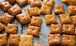 מתכון לחטיף גבינת צ'דר תוצרת בית