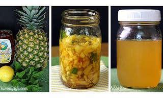 3 מתכונים להכנת תרכיזי מיץ ביתיים