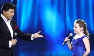 מפגש ענקים: הילדה עם קול הזהב וזמר הבריטון נפגשים על במה אחת