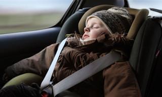 מדוע חשוב להוריד לילדים את המעיל לפני חגירתם בחגורת הבטיחות ברכב