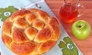 חלת תפוח בדבש במיוחד לראש השנה