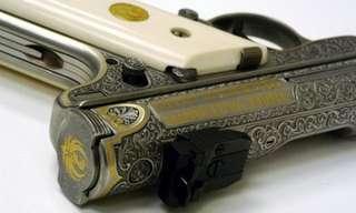 יופי קטלני - אקדחים שהפכו ליצירות אמנות