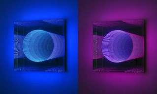אומנות נורות LED אינסופית