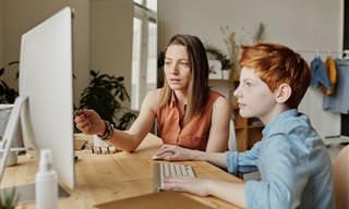 טיפים להורים שחווים לחץ כתוצאה מלמידה מרחוק של ילדם