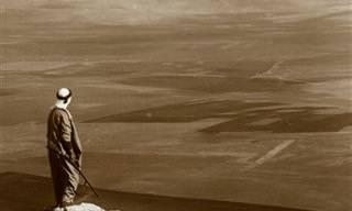 תמונות היסטוריות של הרי ישראל בשנת 1915
