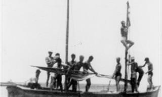 """20 תמונות נדירות של אימוני הים של הפלמ""""ח"""