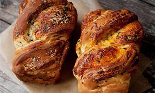 לחם גבינה נימוח ומתובל - מתכון נפלא שיעשיר כל ארוחה