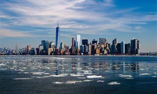 מפה אינטראקטיבית של הערים הגדולות ביותר בארצות הברית