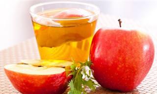 11 תועלות מפתיעות ושימושים נהדרים לחומץ תפוחים