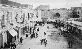 20 תמונות נדירות מסוף תקופת השלטון העות'מאני בירושלים