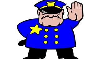 שוטר שקרן - בדיחה קורעת!!