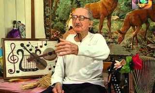 לשמוליק הליצן יש שמחת חיים גם בגיל 100