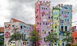 הבית השמח של ריזי - אדריכלות פופ ארט!