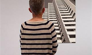 הצלם הזה מתעד אנשים שביקרו במוזיאון וגילו שהם לבושים ממש כמו ציורים!