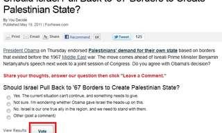 האם ישראל צריכה לסגת לקווי 67?