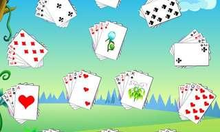 סוליטר פרח - משחק קלפים מהנה ומאתגר