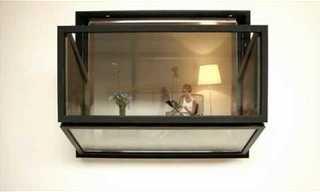 החלון שנפתח למרפסת בלחיצת כפתור - המצאה חדשנית