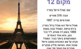 12 המגדלים הגבוהים ביותר בעולם!!