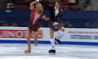 מופע החלקה על הקרח של שינייד וג'ון קרר