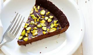 מתכון לעוגת פאי שוקולד ופיסטוק
