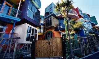 המבנים הכי מוזרים ומיוחדים בעולם - יפהפה!