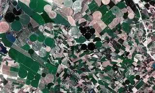 תמונות של נפלאות כדור הארץ מהחלל