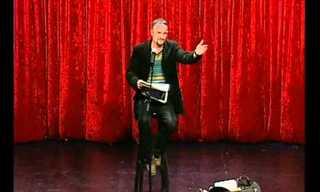 נאור ציון במופע סטנדאפ קורע מצחוק!