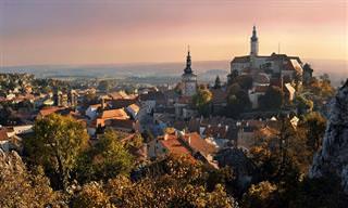 12 עיירות מלאות קסם ופאר ברחבי בצ'כיה