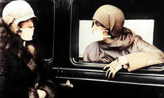 15 תמונות היסטוריות מתקופת מגיפת השפעת הספרדית