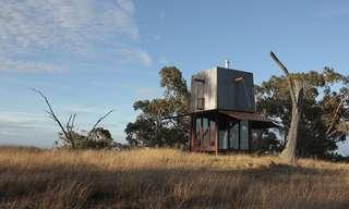 בית קטן בערבות אוסטרליה