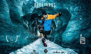 הכירו את הר מון בלאן מעיניו של גולש סקי מקצועי!