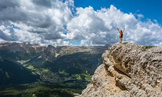 14 סרטונים מרהיבים של הרים מרחבי אירופה
