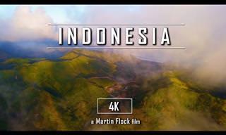 האזורים היפים ביותר באינדונזיה