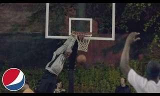 מתיחה מצחיקה במגרש הכדורסל!