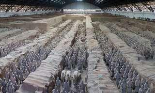 צבא הלוחמים מחימר - מערת חיילי הטרקוטה בשיאן