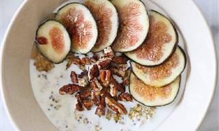 8 מתכונים לארוחות בוקר עם שיבולת שיבולת שועל, שניתן להכין מראש