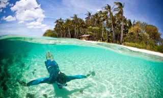 היכן יש את המים הצלולים ביותר בעולם?
