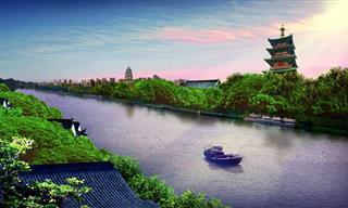 מסע בתמונות לאורך 1,794 הקילומטרים של התעלה הגדולה בסין
