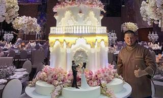 הקונדיטור רנט אגמאזוב מפיק עוגות שהן יצירות פאר