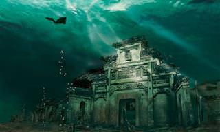 סיפורה של העיר האבודה הרקליון – אטלנטיס של הים התיכון