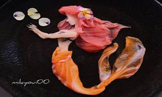 15 תמונות יפהפיות של אמנות סשימי