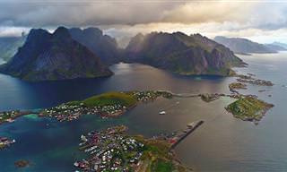 האיים הנורווגיים הקסומים של לופוטן