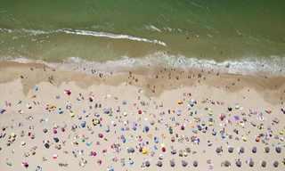 תמונות אמנותיות של חופי ים