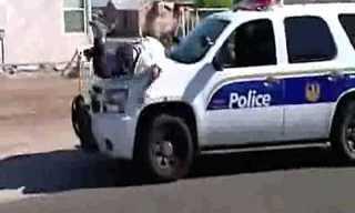 חשוד נמלט מהמשטרה דרך גגות בתים