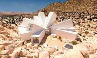 16 דוגמאות מצחיקות ומדהימות לאדריכלות יוצאת דופן