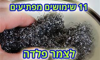 11 שימושים מפתיעים לצמר פלדה