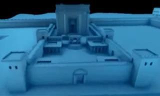 החוקרים מציגים: כך נבנה בית המקדש השני