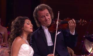 ביצוע מקסים שכזה ליצירה מוזיקלית יכול להגיע רק מאיש אחד...