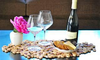 נשארו לכם בקבוקי יין רקים? 11 רעיונות לעיצובים מקוריים!