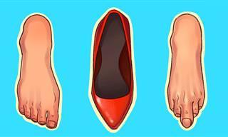 6 סוגי הנעליים המזיקים ביותר לגוף